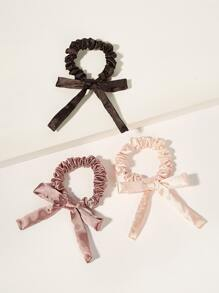 Knot Hair Scrunchies 3pack