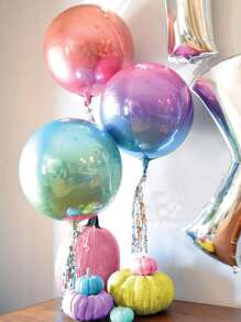 22inches Ombre Laser Decoration Balloon 1pc