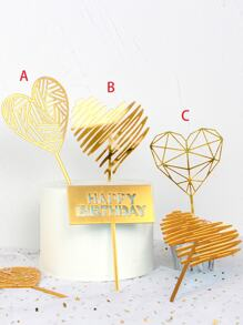 Cake Topper Decoration 1pc