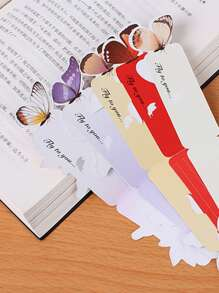 Butterfly Decor Bookmark 5pcs