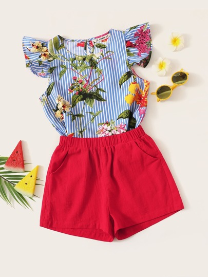 0a79b606c4 Girls Two-piece Outfits | Girls Two-piece Outfits Online | SHEIN