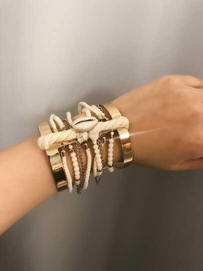 5d29ee55cf Bracelets for Women | Beaded & Bangle Bracelets | SHEIN IN