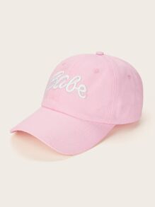 Letter Embroidery Baseball Cap