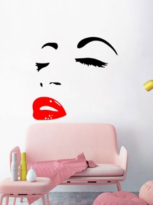 Face Print Wall Art