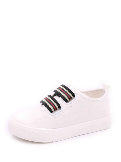 Toddler Striped Low Top Sneakers