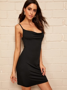 Draped Front Cami Dress