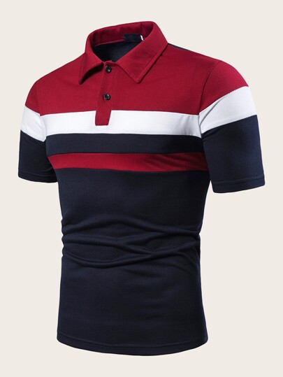 990d934706 Men Polo Shirts | Men Polo Shirts Online | SHEIN