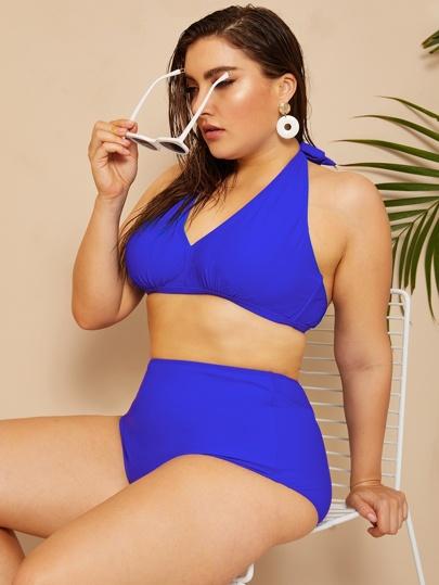 ba7d20448a Bikini grande taille | Boutique De Bikini grande taille En Ligne | ROMWE
