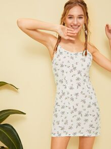 Calico Print Cami Sundress