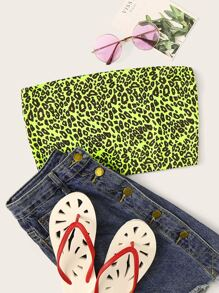 Neon Lime Leopard Tube Top