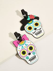 Skeleton Design Card Holder 2pcs