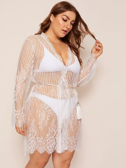 a8df8d630fcaf1 Plus Size Intimates, Shop Plus Size Intimates Online   SHEIN IN