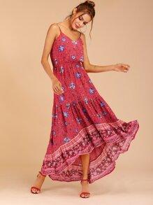 4caac3414e Ditsy Floral Asymmetrical Hem Cami Dress