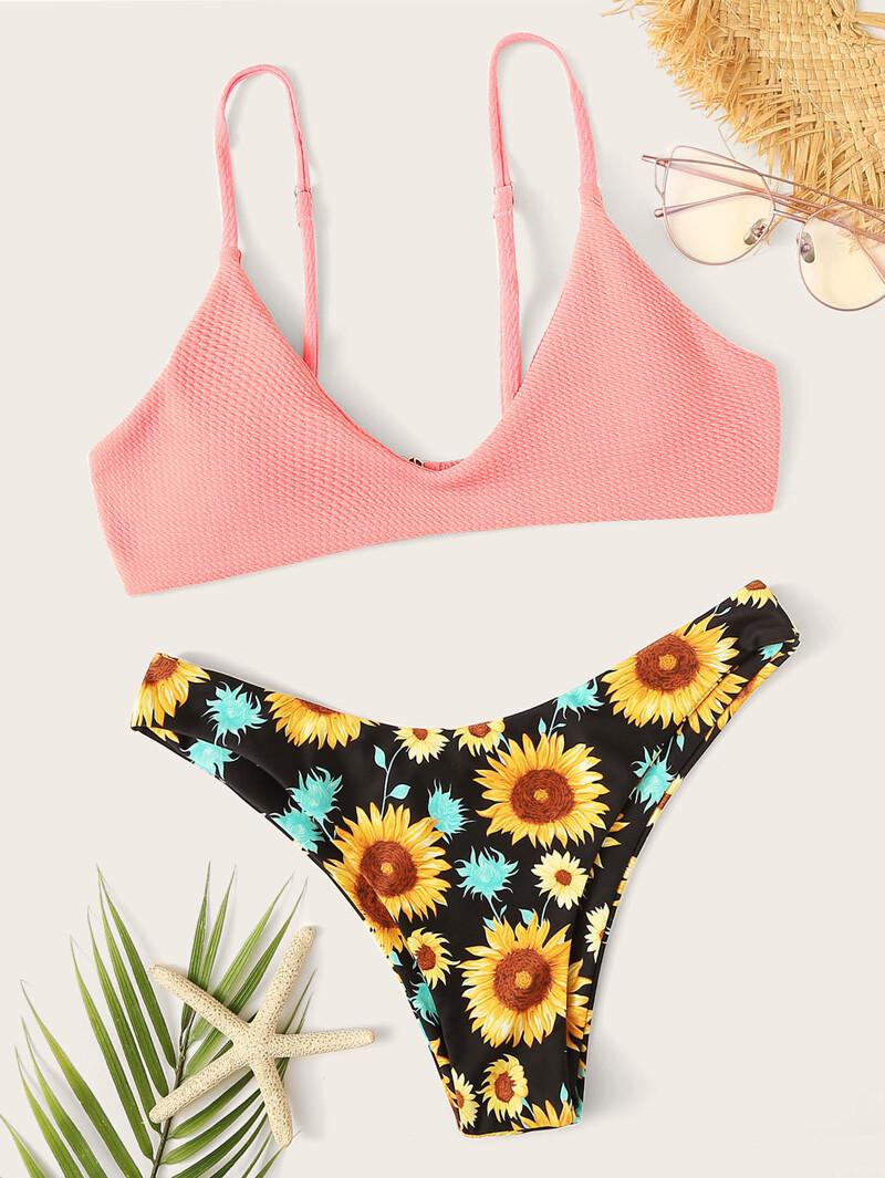 Bikini Imprimé Bikini Dépareillé Bikini Dépareillé Avec Imprimé Avec Y6gyfb7