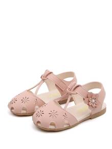 Baby Floral Laser Cut Out Flats