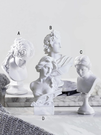 Artist Statue Decorative Object 1pc