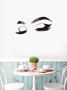 Eye Print Wall Sticker