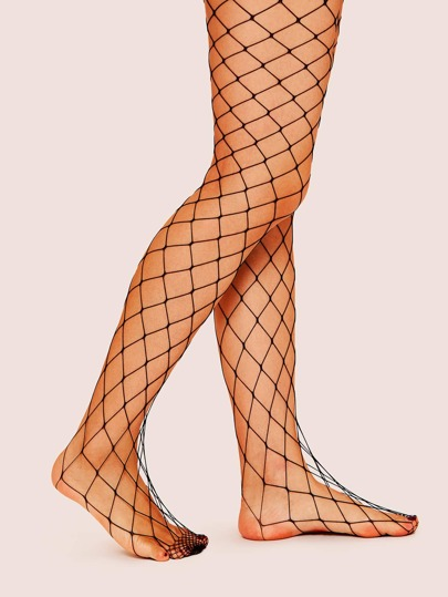 067af3ac2 Plain Fishnet Tights