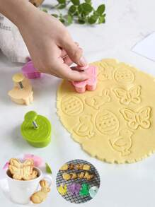 Animal Biscuit Mold 4pcs