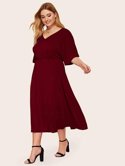 dc00b34542b1 Women's Plus Size & Curvy Dresses | SHEIN