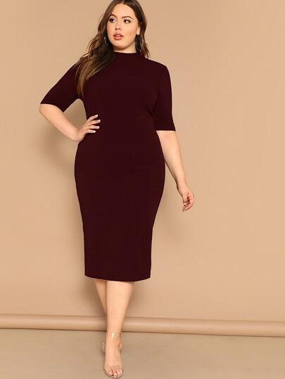dae1994a0b9f Women's Plus Size & Curvy Dresses | SHEIN