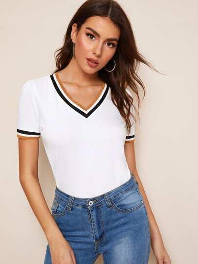 e60e7afc4 T-shirts   T-shirts tendance pour femmes   SHEIN