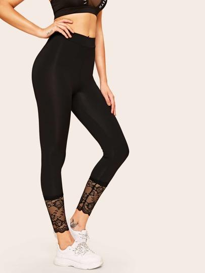 b80eafff0cd259 Leggings | Black, High Waist & Wet Look Leggings | SHEIN UK