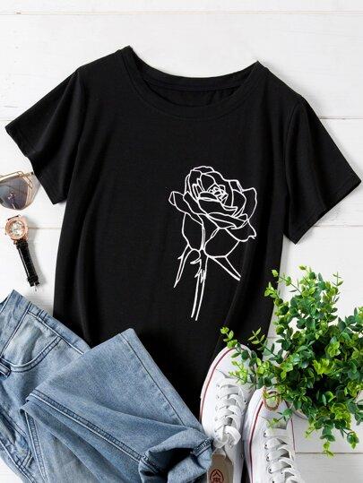 5f2b14da01 T-Shirts grande taille femme | SHEIN