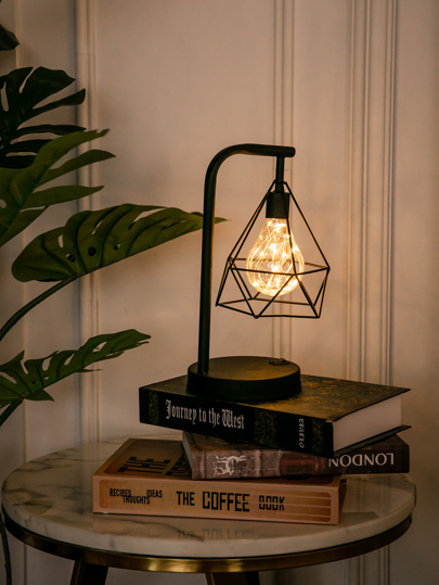 Diamond Shaped Table Lamp