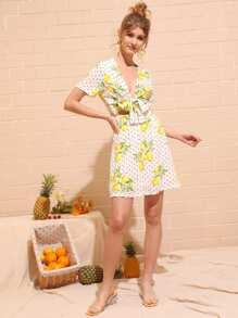 04846d0028c V Neck Dresses EmmaCloth-Women Fast Online