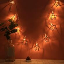 10pcs Star Bulb String Light
