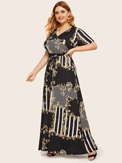 4875fe6a21 Women's Plus Size & Curvy Dresses | SHEIN