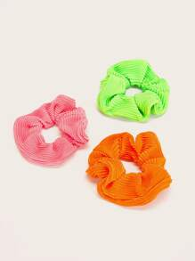 Ribbed Scrunchies 3pack
