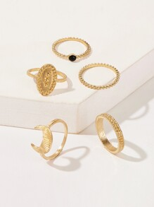 Textured Ring 5pack