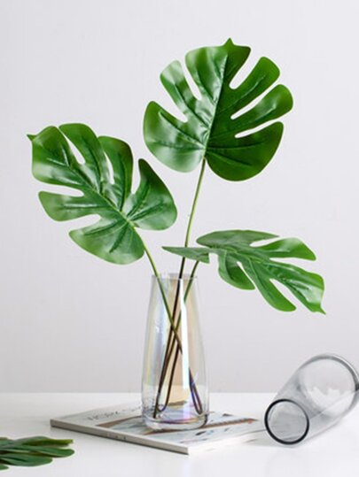 Artificial Turtle Leaf 1pc