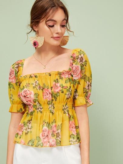 75b1a543ee2f Women's Blouses, Shirts & Dressy Tops | SHEIN