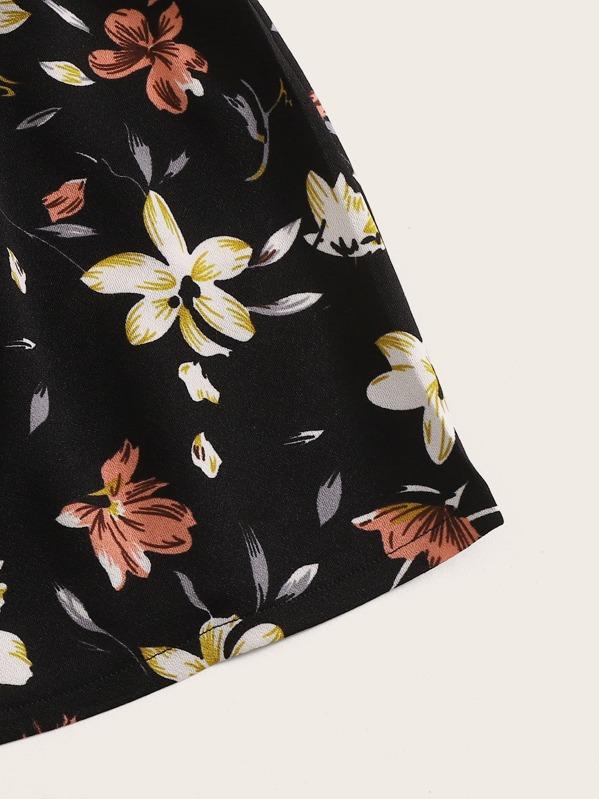 Ensemble 2 pièces avec imprimé floral