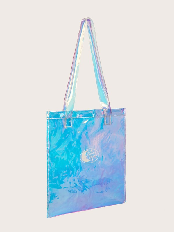 1ad17e824 Cheap Iridescent Tote Bag With Double Handle for sale Australia | SHEIN