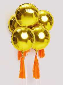 Tassel Decor Decorative Balloon 5pcs