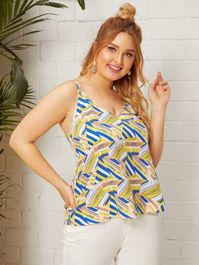 5a760339 Plus Size Tank Tops & Camis, Shop Plus Size Tank Tops & Camis Online ...
