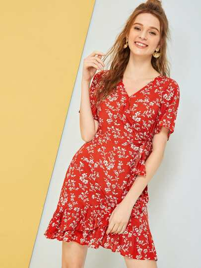 6e8c968d2d8 Ditsy Floral Print Dress