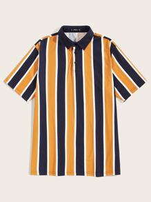 Men Striped Polo Shirts