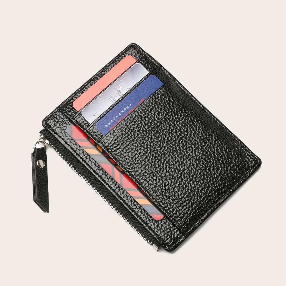 Brieftasche mit Kieselstein Detail