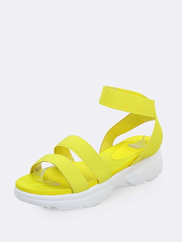 Sneaker Sandals Strappy Chunky Strappy Neon Chunky Sneaker Strappy Neon Chunky Neon Sneaker Sandals 6bfyY7g