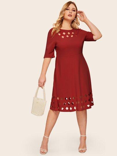 6c3ee72c73 Women's Plus Size & Curvy Dresses | SHEIN