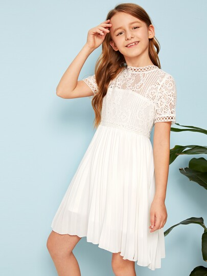 64d42305 Girls Dresses, Shop Girls Dresses Online | SHEIN UK