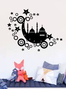 Castle Print Wall Sticker
