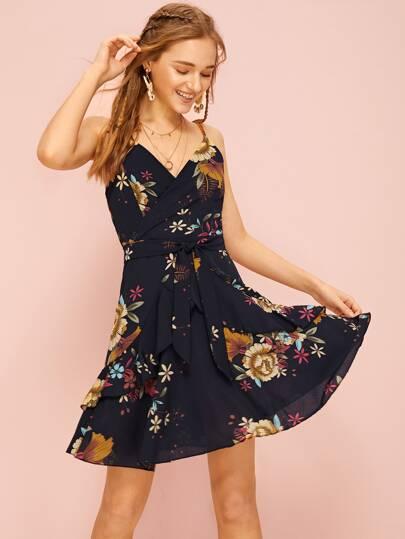 1661d3fa476 Floral Print Cami Dress