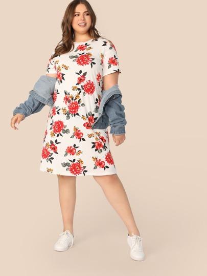 c533f7f43b7b5 Women's Plus Size & Curvy Dresses | SHEIN