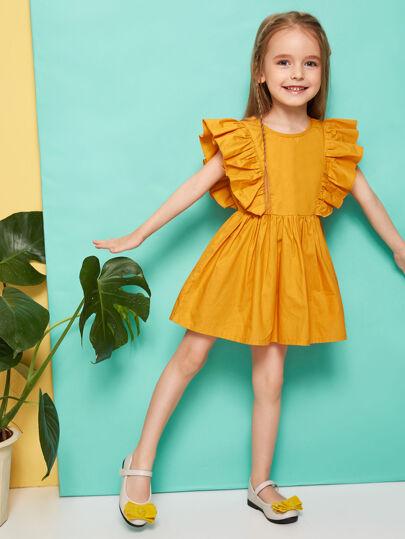685881b670 Toddler Girl Dresses | Toddler Girl Dresses Online | SHEIN